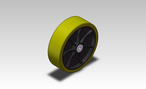 AGV Driving wheel of electric vehicle